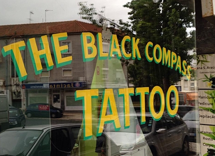 The Black Compass Tattoo